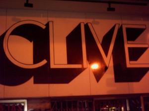 Clive bar sign